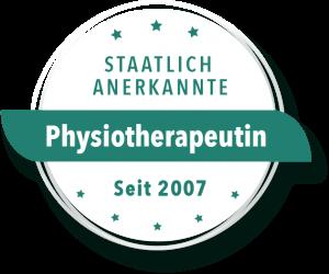 Statlich anerkannte Physiotherapeutin
